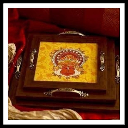Natraj Square Tray Set (3) - Footprints Forever