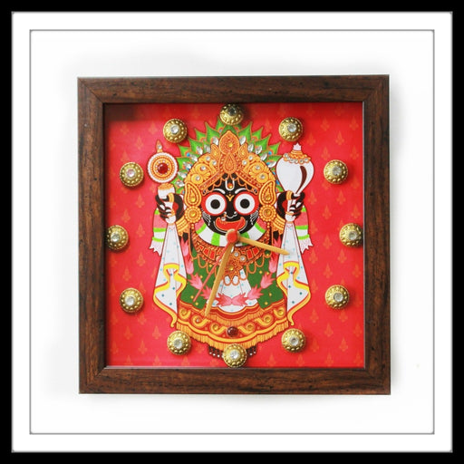 Traditional Jagganath Clock - Footprints Forever