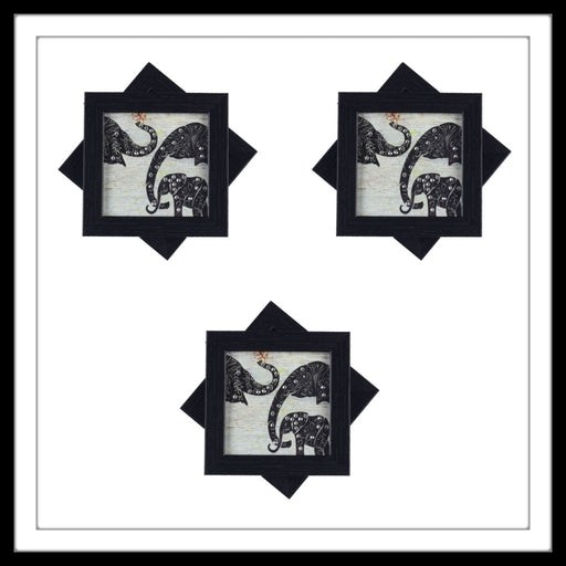 Elephant Family Coasters - Footprints Forever