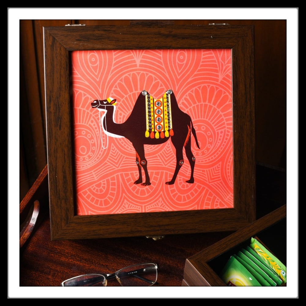 Camel Multi-purpose Box - Footprints Forever