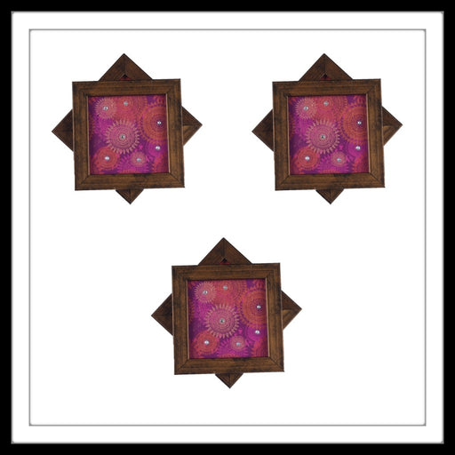Arabesque Pink Coasters