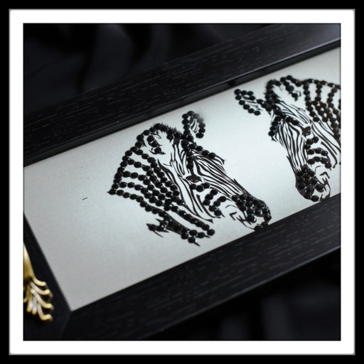 Zebra Long Tray (Small) - Footprints Forever