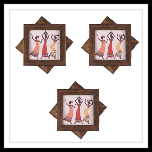 African Ladies Coasters - Footprints Forever