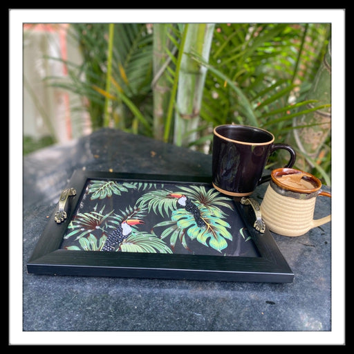 Toucan Rectangular Tray