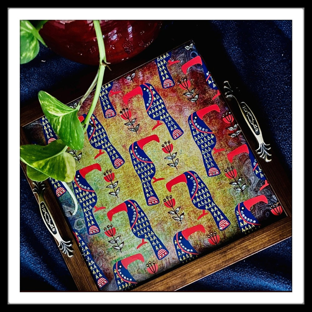 Toucan Square Tray