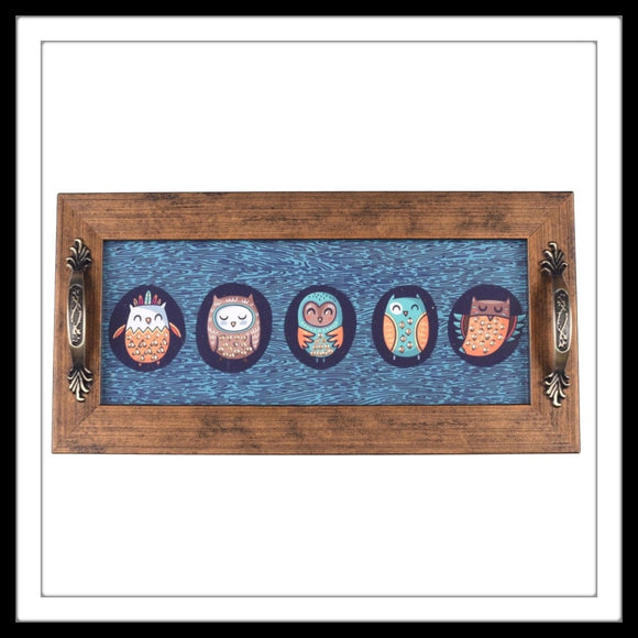 Owl Long Tray