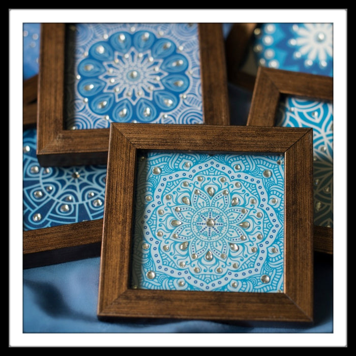 Moroccan Coasters - Footprints Forever