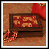 Red Elephant Jewellery Box
