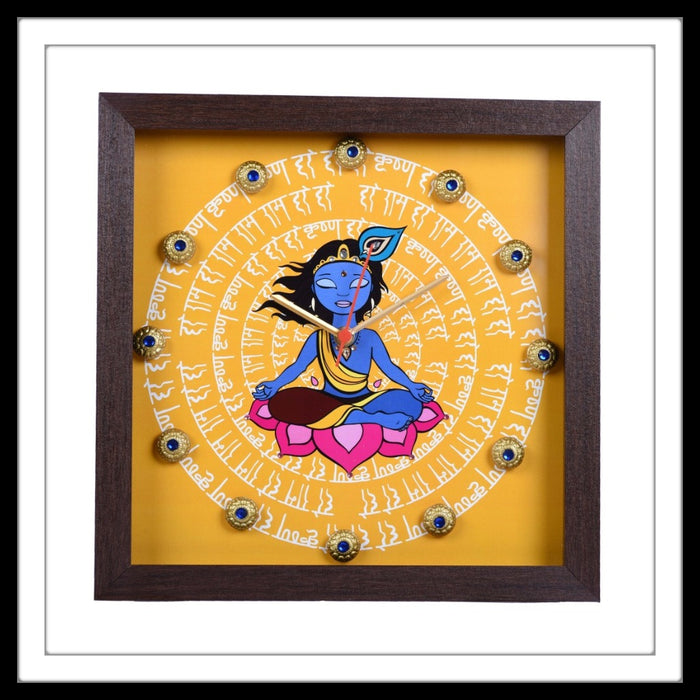Krishna Clock - Footprints Forever