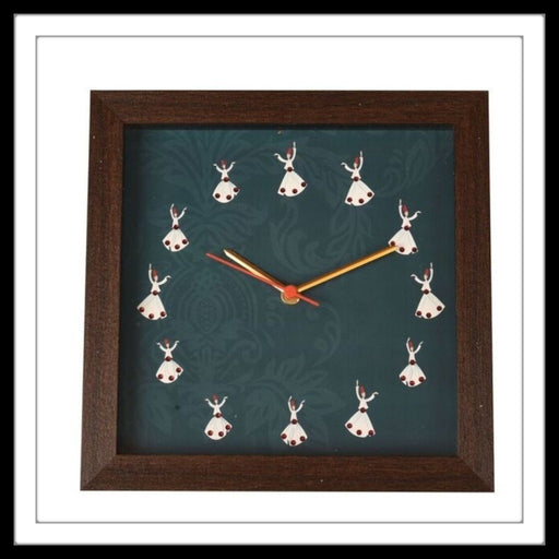 Dancing Dervishes Clock - Footprints Forever