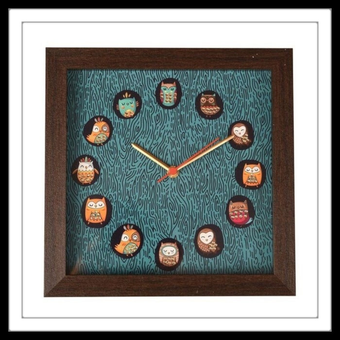 Owl Clock - Footprints Forever