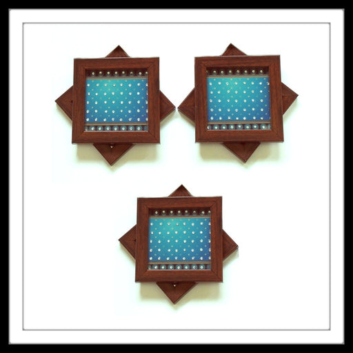 Bedazzled Blue Coasters