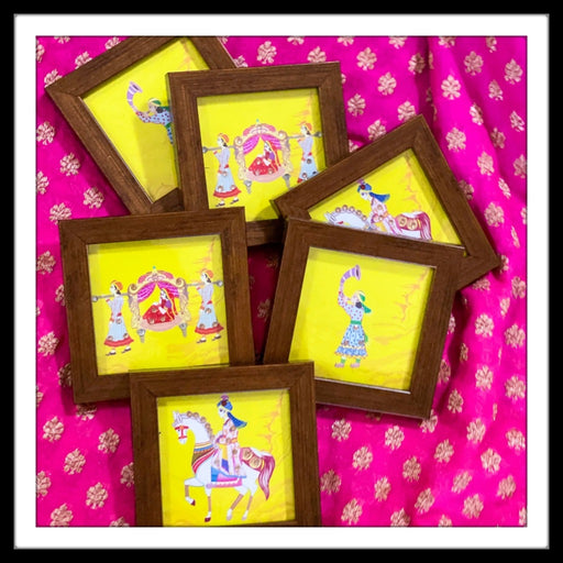 Wedding Barat Coasters