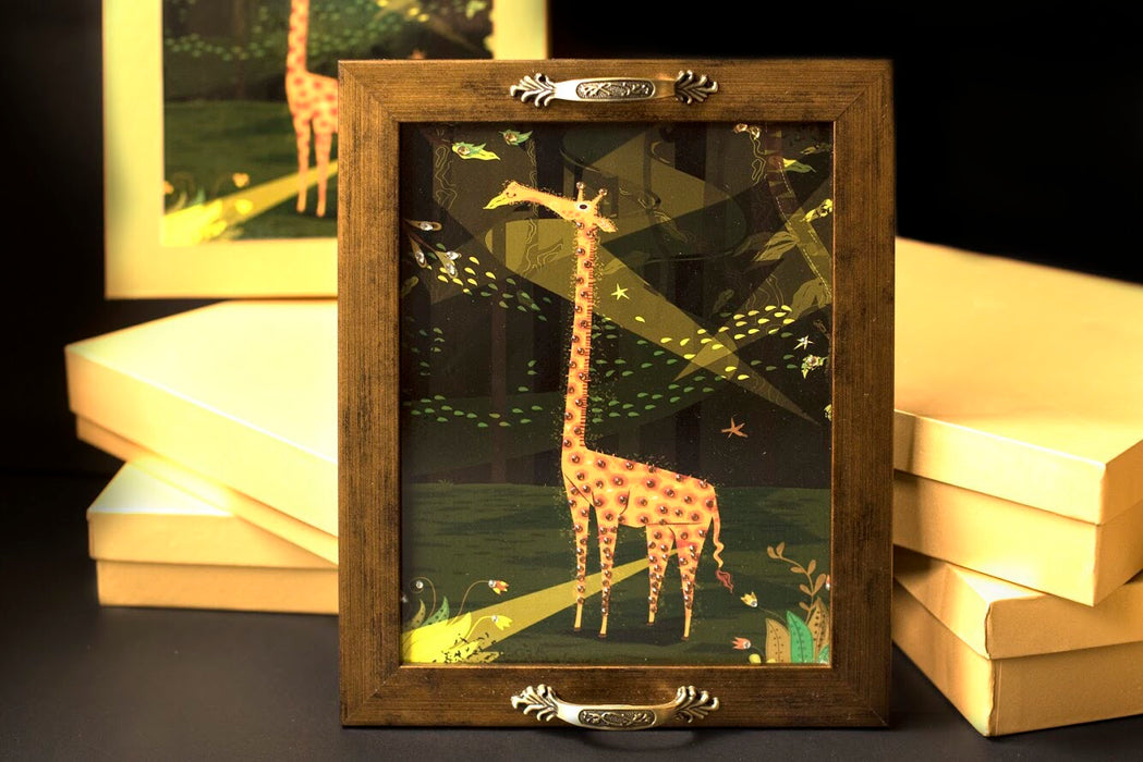 Giraffe Tray - Footprints Forever