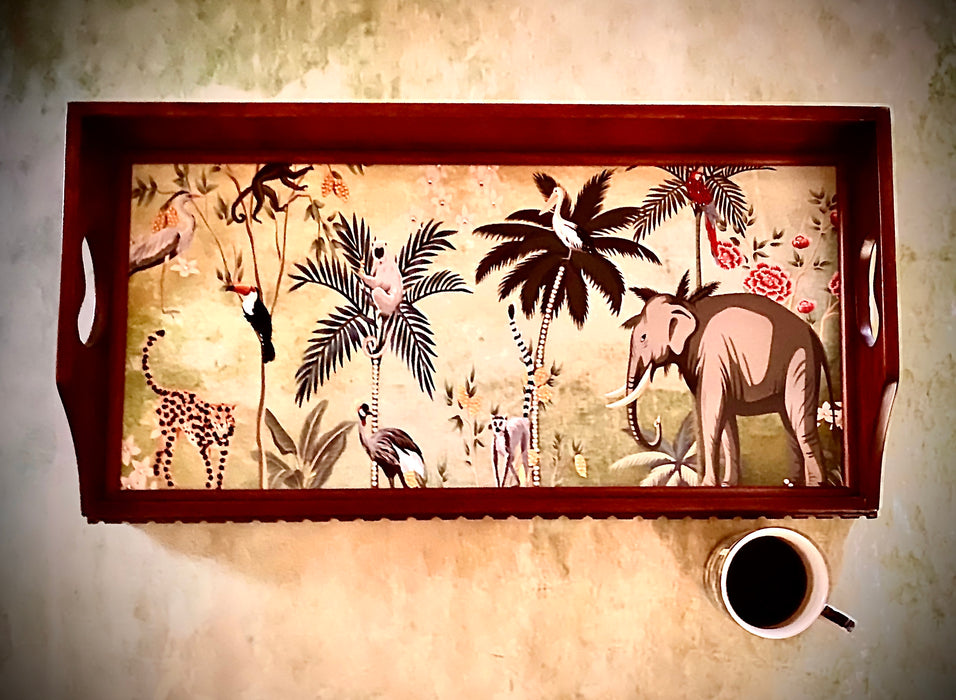 Jungle Tray & Bed Table