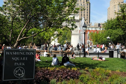 Washington Square Park.  Photo via nycgovparks.org