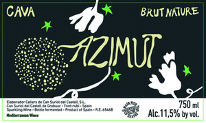 Azimut Cava Brut Nature 750ml