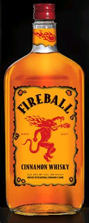 Fireball Cinnamon Whisky Pet 50ml
