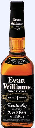 Evan Williams Bourbon Black Label 1.75l