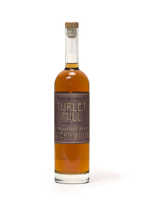Turley Mill Cask Strength KGB Rye Whiskey