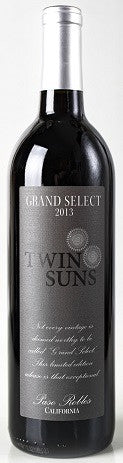 Twin Suns Grand Select red blend 2014