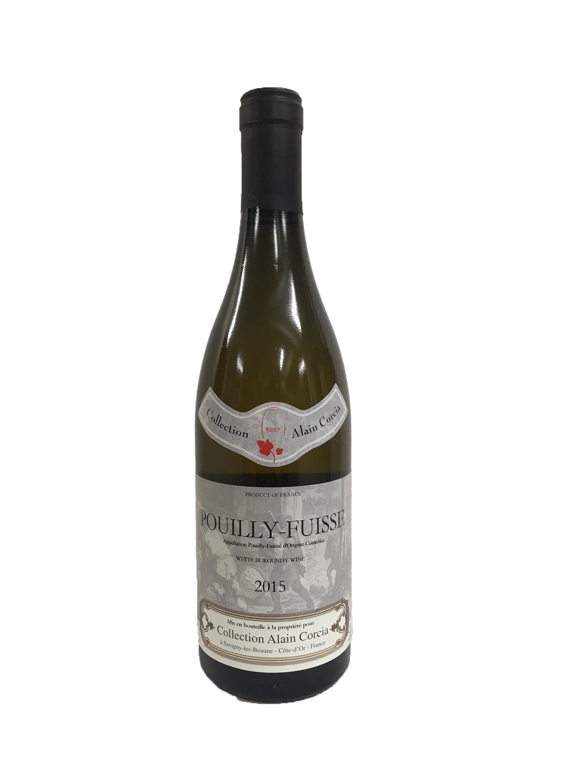 Pouilly Fuisse Collection Alain Corcia White Burgundy 2015
