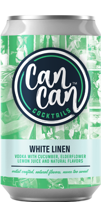Can Can White Linen RTD cocktail