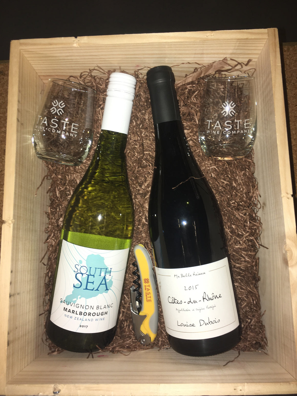 $33 gift box: South Sea Sauvignon Blanc & Louise Duboise Cotes du Rhone