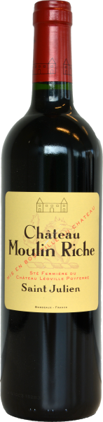 Chateau Moulin Riche St. Julien KOSHER Bordeaux