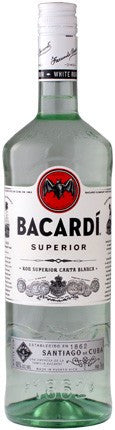 BACARDI SUPERIOR WHITE RUM (750 ML)