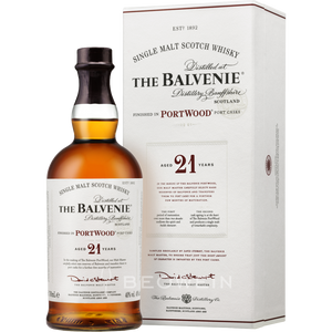 Balvenie 21 Year Portwood Single Malt Scotch