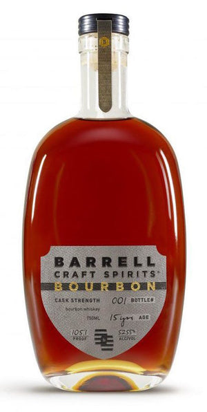 Barrell Craft Spirits Cask Strength Limited Edition 15 Year Bourbon