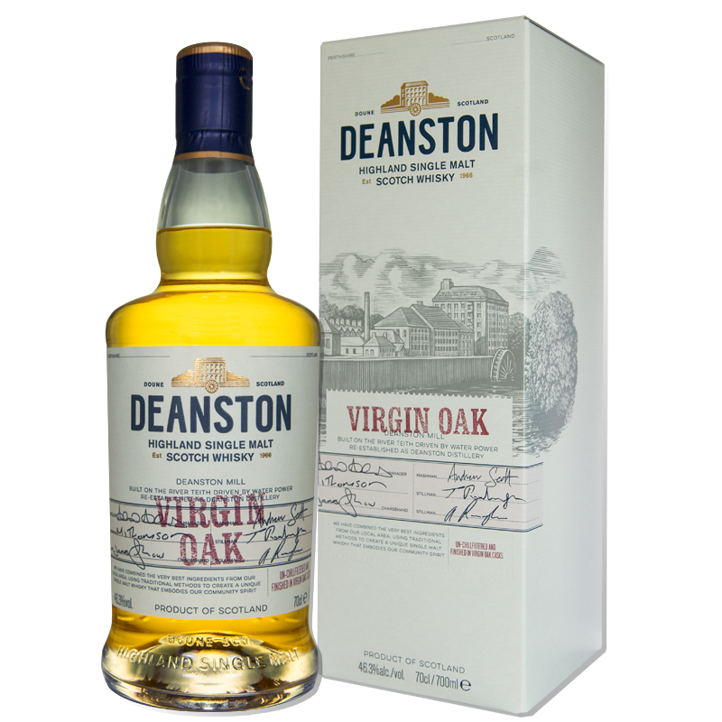 Deanston Scotch Single Malt Virgin Oak