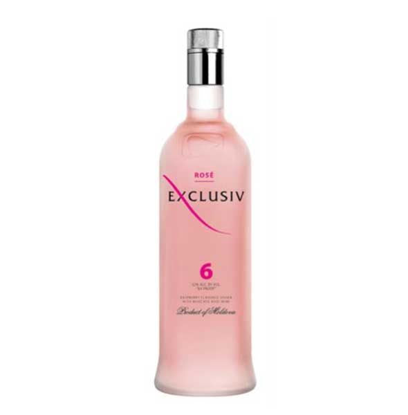 Exclusiv 6 Rose´ Vodka (375ml)