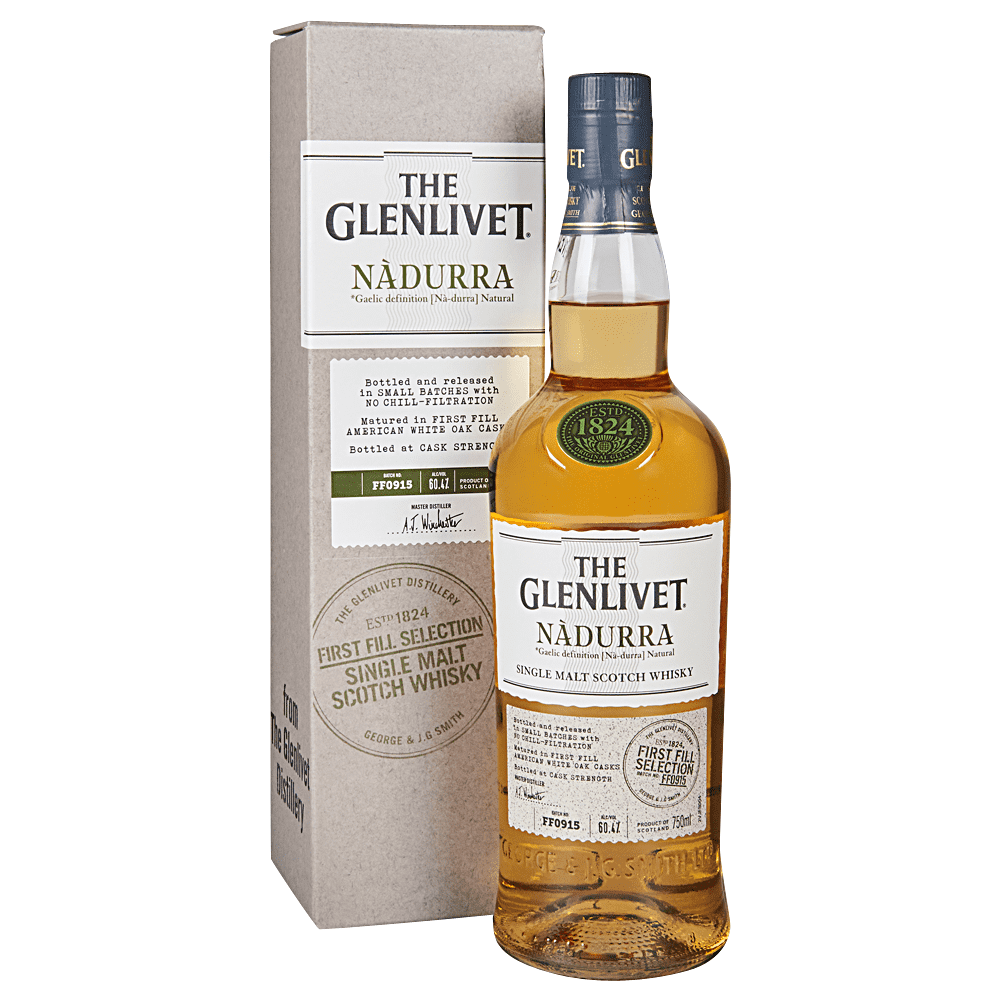 "Glenlivet ""First Fill"" Nadurra Scotch 750 ml"