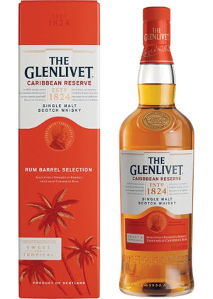 Glenlivet Caribbean Reserve Single Malt Scotch Whisky (750ml)