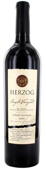 Herzog Wine Cellars Single Vineyard 2009 Mt Veeder Cabernet Sauvignon