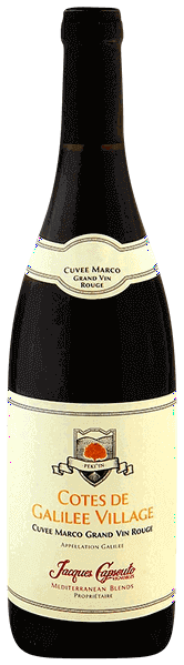 Jacques Capsouto Cotes de Galilee Village Cuvee Marco Grand Vin Rouge