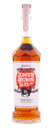 Two James Johnny Smoking Gun Whiskey