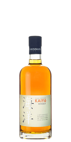 Kaiyo Cask Strength, Japanese Mizunara Oak Whisky