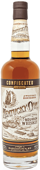 "Kentucky Owl ""Confiscated"" Bourbon Whiskey"