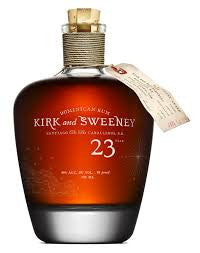 Kirk and Sweeney Dominican Rum 23 year