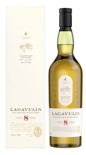 Lagavulin 8 Year Single Malt Scotch - 96 proof