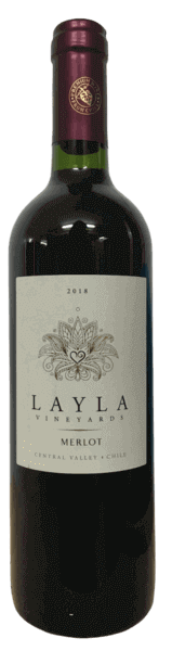 Layla Vineyards Merlot