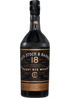 Lock Stock & Barrel Rye Whiskey 18 Year
