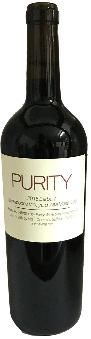 Purity Wine, Alta Mesa Barbera Silverspoons Vineyard