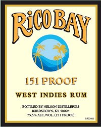 Rico Bay West Indies 151 Rum 1LITER