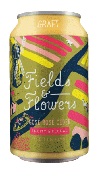 "Graft ""Fields & Flowers"" Gosé Rosé Cider CAN"