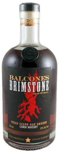Balcones Brimstone Corn Whisky