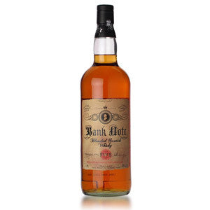 Bank Note Blended Scotch Whisky 1 Liter